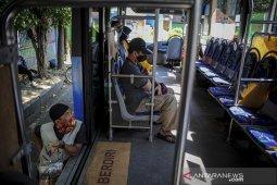 Bus Damri di Bandung kembali beroperasi