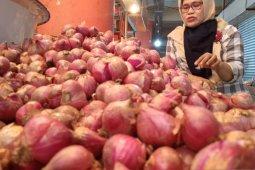 Harga bawang merah di Bengkulu Rp60 ribu per kilo