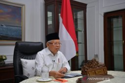 Ma'ruf Amin: Tatanan Baru diterapkan jika tiga syarat terpenuhi