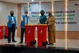 PLN UIW MMU - TP PKK Maluku sinergi tingkatkan kebersihan