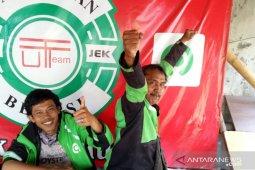 Ojek online di kota Bekasi sudah kembali boleh angkut penumpang