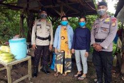 Brimob Polda Maluku tertibkan warga tidak gunakan masker
