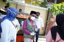 """Zakir Sabhara HW, """"Komandan Relawan"""" Sulsel perangi COVID-19"""