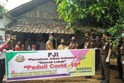 Persatuan Jaksa Indonesia bantu warga miskin di Kabupaten Lebak