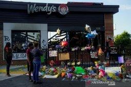 Publik berikan penghormatan pada Rayshard Brooks yang ditembak polisi