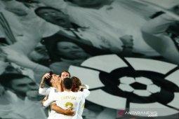 Real Madrid terus menguntit Barcelona di puncak klasemen Liga Spanyol