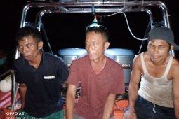 Tiga nelayan hilang di Nias Selatan ditemukan  selamat