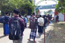 Sebelum kegiatan belajar, ribuan santri Lirboyo Kediri jalani isolasi di pesantren
