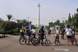 Wilayah Jakarta diliputi cuaca cerah berawan pada Minggu