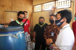 Warga binaan Lapas Singaraja dibekali produksi pupuk organik