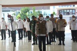 Aparat gabungan TNI Polri amankan pelaksanaan PSBB di Ambon