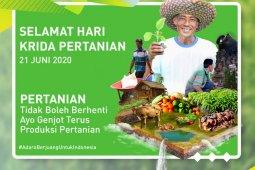 Ayo, genjot terus produksi pertanian