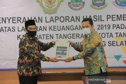 Laporan keuangan  2019 Pemkot Tangerang raih Opini WTP ke-13 Dari BPK RI