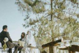Pernikahan  aktris  Tara Basro dan Daniel Adnan hanya dihadiri keluarga inti