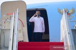 Presiden Jokowi bertolak ke Jawa Timur, tinjau posko penanganan COVID-19