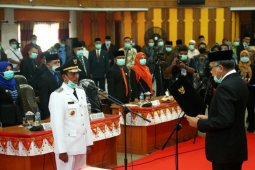 Ini kata Plt Gubernur Aceh, saat Lantik Bupati Aceh Selatan