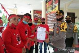 PDI Perjuangan Kaltim dukung Kepolisian tindak pembakar bendera partai