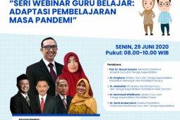 Kemendikbud ajak guru ikuti peluncuran webinar pelatihan
