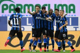 Inter Milan berbalik unggul 2-1 saat melawan Parma