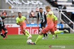 Manchester City ke semifinal Piala FA usai menang 2-0 atas Newcastle United