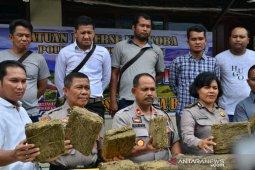 Granat minta Polres Padangsidimpuan ungkap pemilik ganja