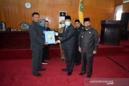 Wali Kota Padangsidimpuan sampaikan LKPJ Tahun Anggaran 2019