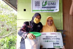 ACT Maluku terus berikan modal usaha bagi pedagang di Ambon