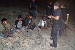 Tim Brigade Enggang hentikan tambang ilegal di Bukit Soeharto