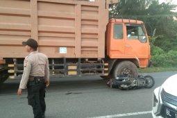 Terlindas Truck seorang remaja asal Meulaboh meninggal dunia di Aceh Jaya