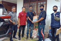 Peduli Rohingya, kelompok pemuda di Aceh Utara berikan bantuan
