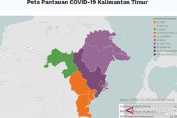Peta pantauan COVID-19 ada warna hitam di Kota Balikpapan, ini kejelasannya