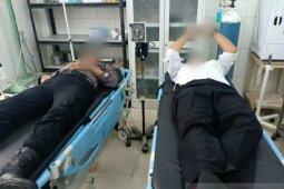 Enam personel polisi alami luka-luka dalam kerusuhan di Madina Sumut