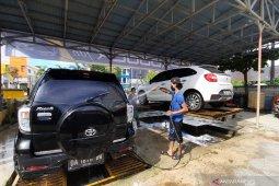 Paddock Fdn, tempat cuci mobil yang nyaman dan strategis di Banjarmasin