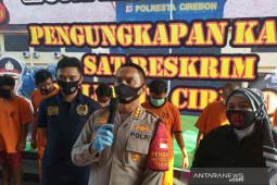 Polisi Kota Cirebon bekuk empat pelaku pencurian dengan kekerasan
