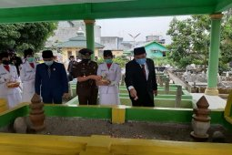 Peringatan Hari Jadi Tebing Tinggi digelar di Makam Datuk Bandar Kajum