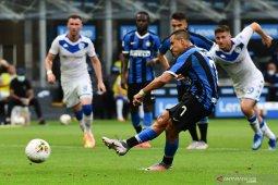 Inter Milan pesta enam gol tanpa balas saat menjamu Brescia