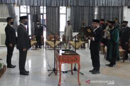 Staf Ahli Gubernur Bidang Ekobang jabat Sekda HST