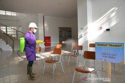 Sterilisasi ruangan jelang SBMPTN di Unsyiah
