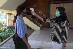 Pelaksanaan UTBK UI menerapkan protokol kesehatan yang ketat