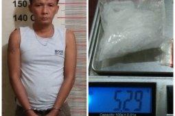 Polsek Padang Tualang Langkat tangkap pemilik 5,29 gram sabu-sabu