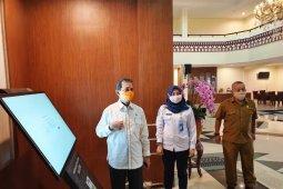 BMKG pasang Smart Display WRS New Gen Di Kabupaten Tapanuli Selatan