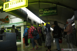 Penerapan protokol kesehatan penumpang kereta api