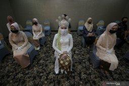 Simulasi Resepsi Pernikahan di Masa Normal Baru