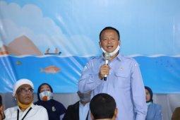 Menteri KP Edhy Prabowo nyatakan siap pasang badan untuk nelayan