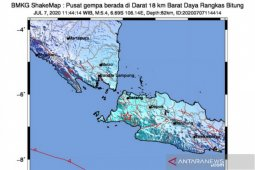 Efek tanah lunak buat gempa Lebak sangat terasa di Jakarta