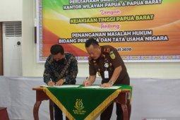 Kejati Papua Barat dampingi Perum Bulog jaga stabilitas pangan