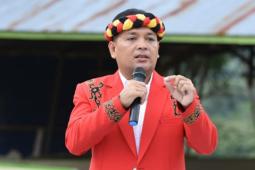 DAD Sanggau : banner ajakan pergi gawai Dayak Hoax