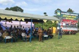 Jangan tebang hutan Seulawah, pesan bupati kepada warga Lamteuba