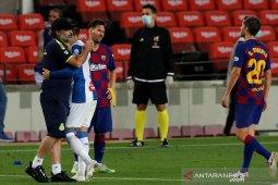 Klasemen Liga Spanyol setelah Barca kirim Espanyol ke kasta kedua