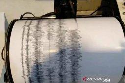 Gempa bumi dengan magnitudo 4,7 menggetarkan Bengkulu